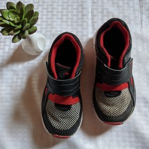 Athletic Works Toddler Size 11 Red and Black Shoes